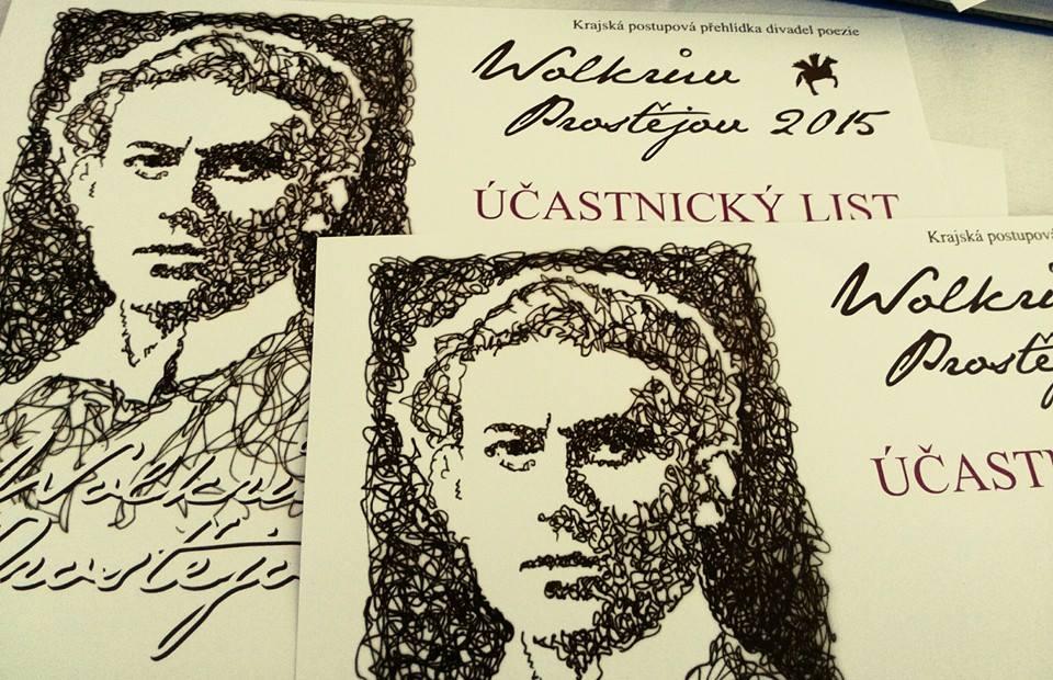 Recitátoři a divadla poezie se sjedou na Wolkrův Prostějov