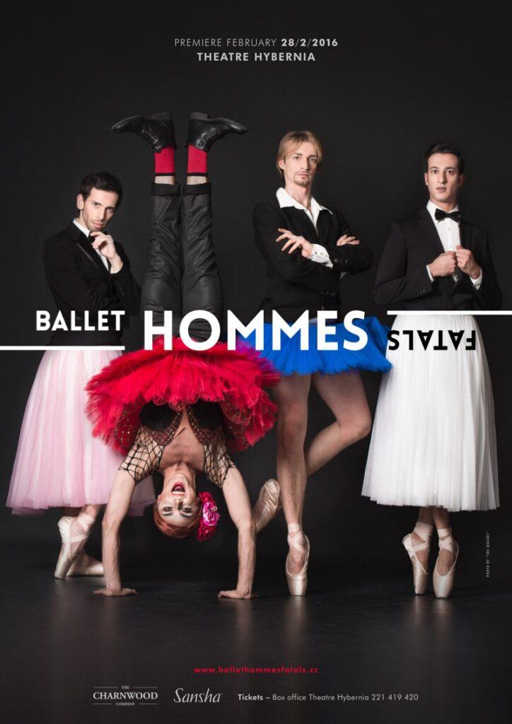 Tanečníci Národního divadla vystoupí v ženských rolích