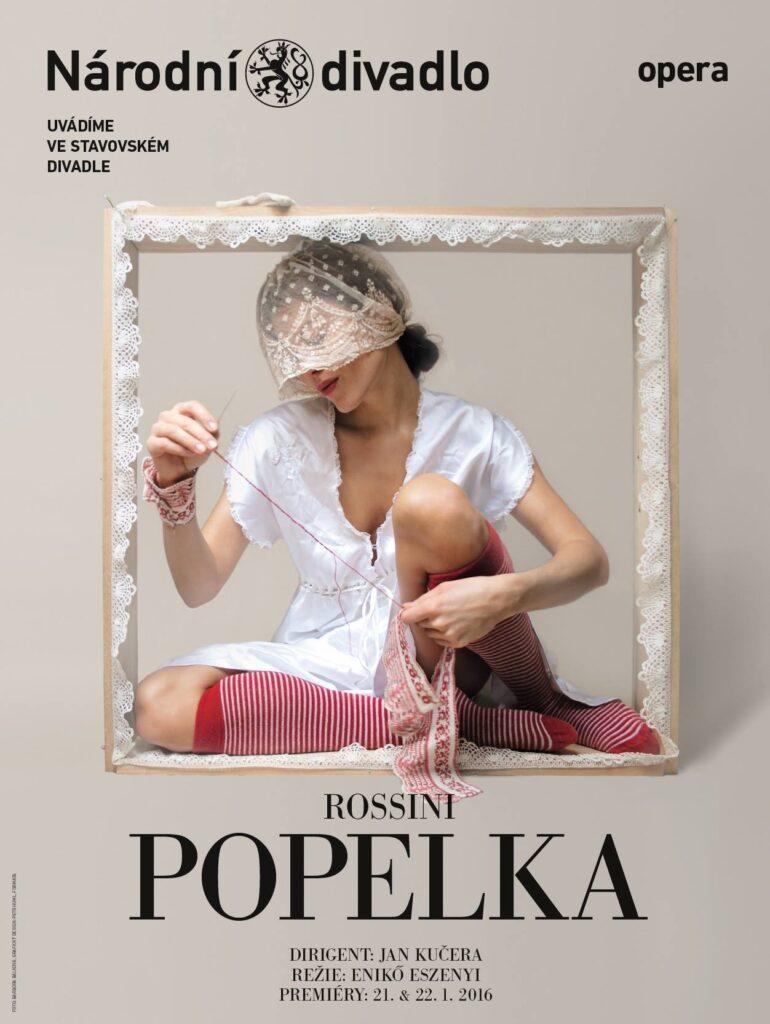 Stavovské divadlo dnes uvede premiéru Rossiniho Popelky