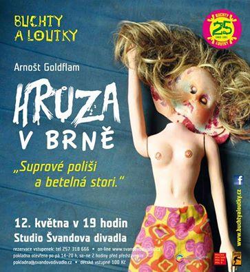 Buchty a loutky uvedou premiéru Goldflamovy hry Hrůza v Brně