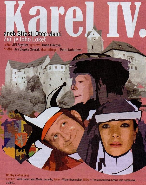 Karlovarské divadlo uvede hru o Karlu IV.