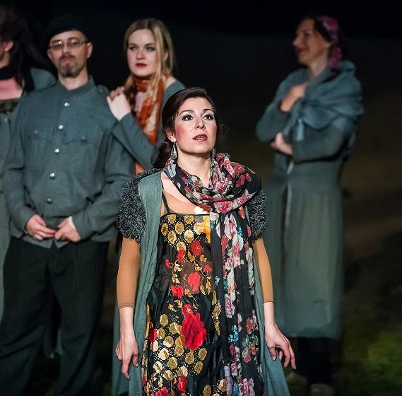 Slavná opera Carmen po 51 letech před Otáčivým hledištěm v Českém Krumlově