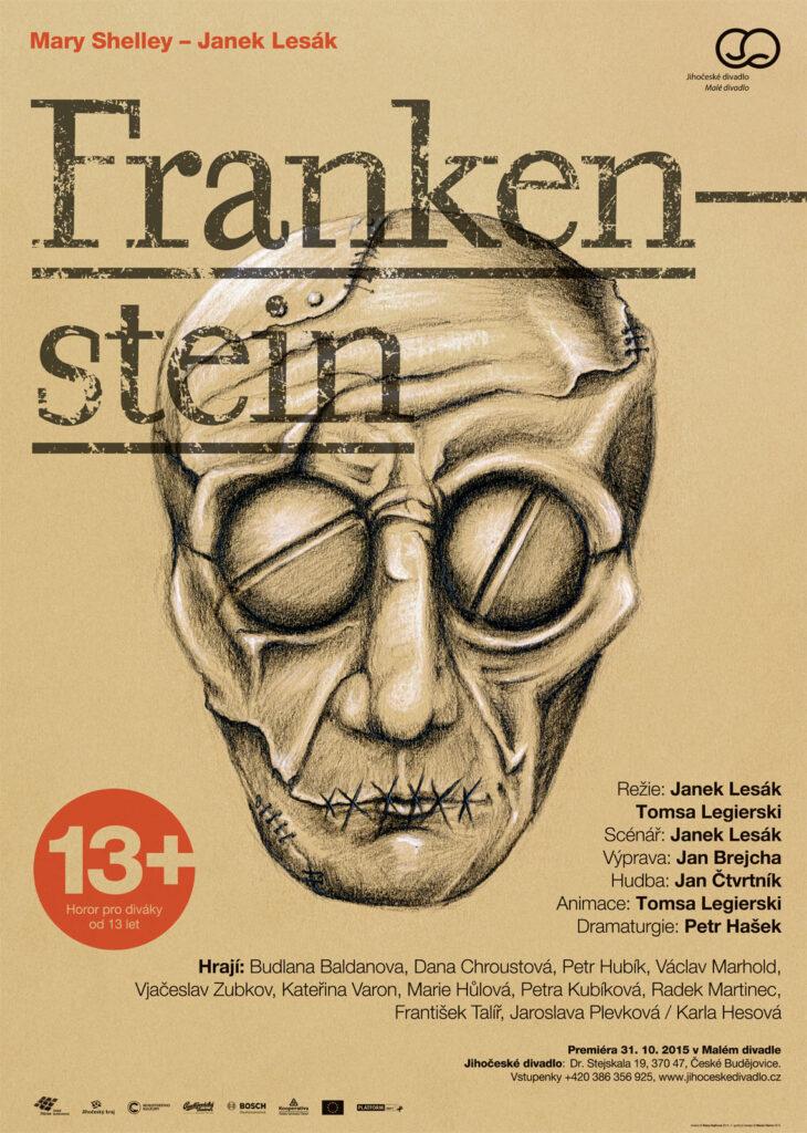 Jihočeské divadlo uvede němý horor Mary Shelley a Janka Lesáka Frankenstein