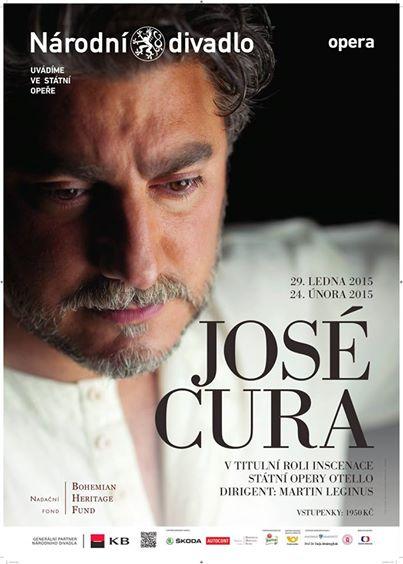 Tenorista José Cura se v Praze dvakrát představí jako Otello