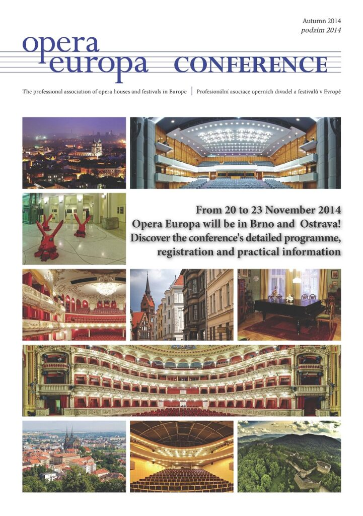 V Brně začala operní konference věnovaná zvláště české hudbě