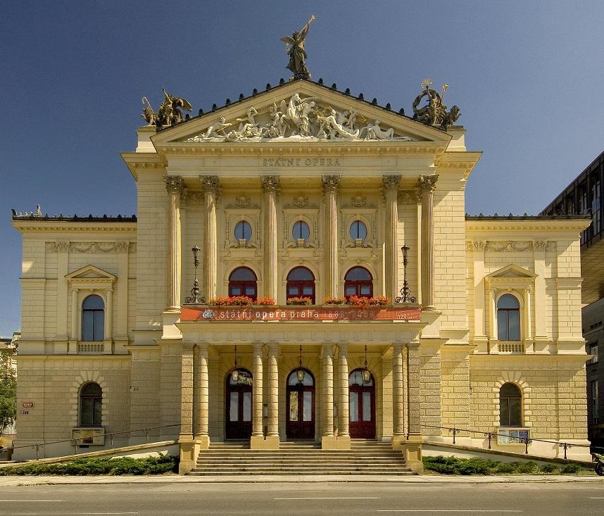 Rekonstrukce Státní opery v Praze by měla stát miliardu korun