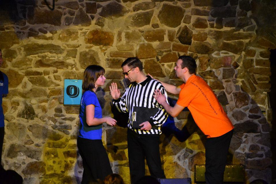 Zápas v divadelní improvizaci v Činoherním klubu