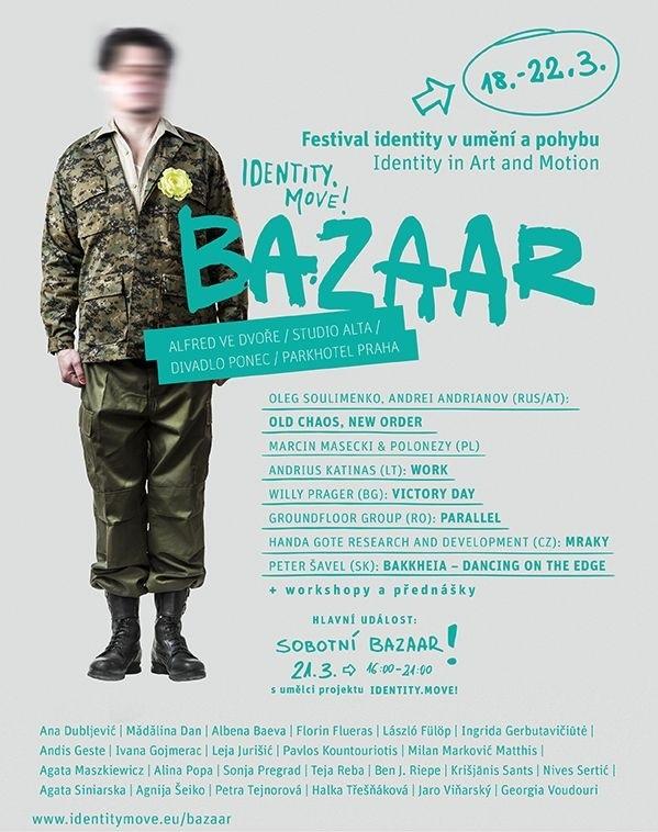 Proměny ženského těla v čase, novodobé otroctví na jahodových polích i lidská blízkost jsou tématy festivalu Bazaar