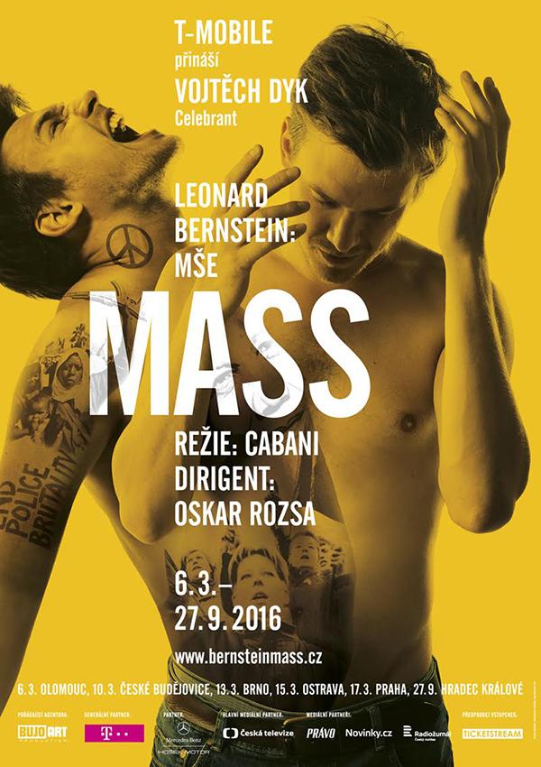V Olomouci byla uvedena Bernsteinova Mše v čele s Vojtěchem Dykem