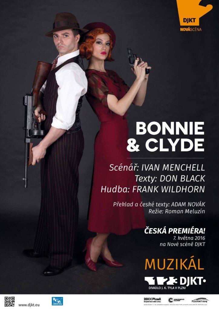 Muzikál Bonnie & Clyde bude mít v Plzni českou premiéru