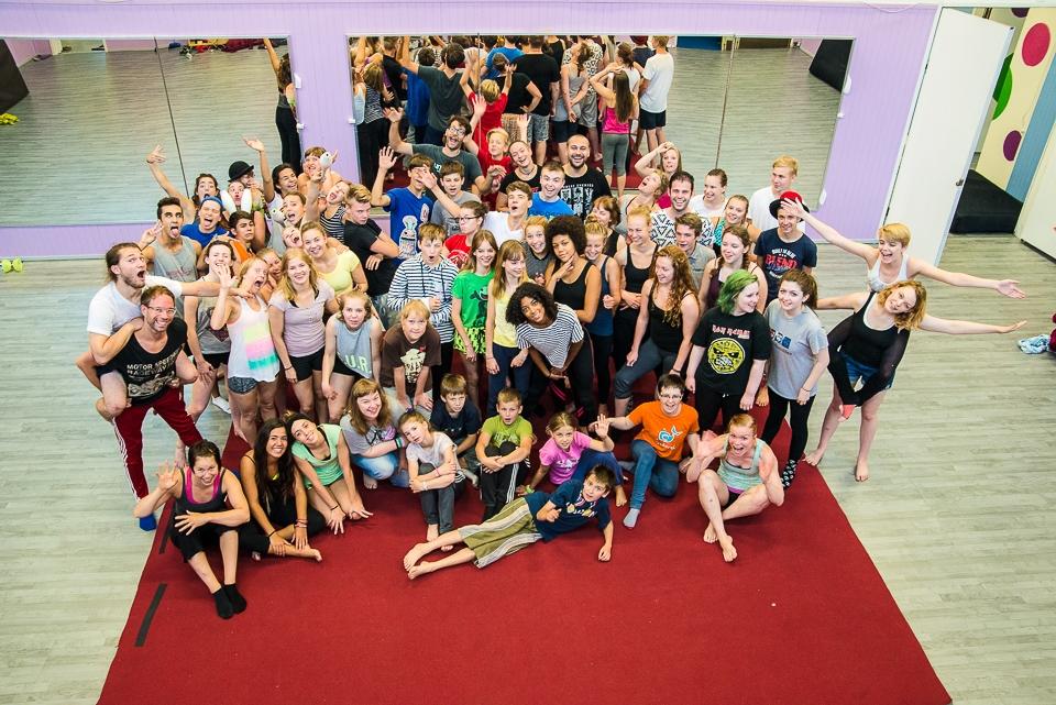 Cirkusový festival v Tampere s účastí členů Cirqueonu