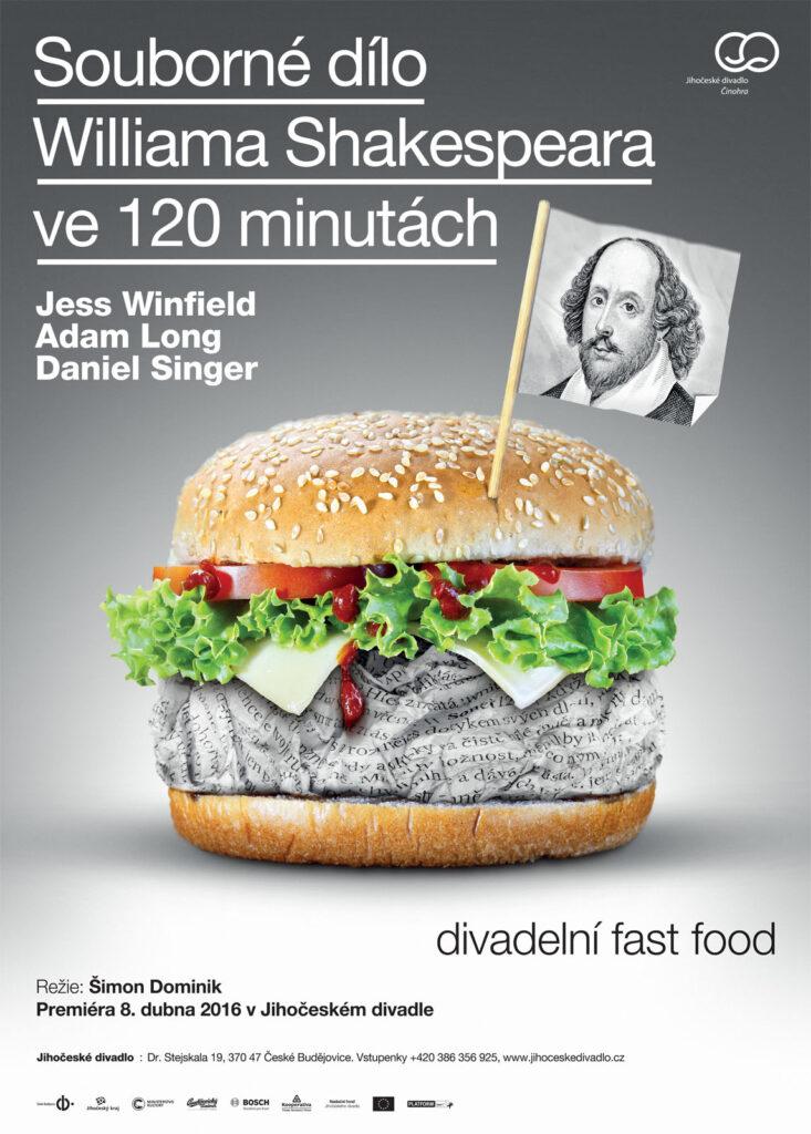 Souborné dílo Williama Shakespeara ve 120 minutách v Jihočeském divadle