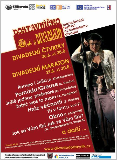 V Přerově vrcholí divadelní festival maratonem sedmi představení