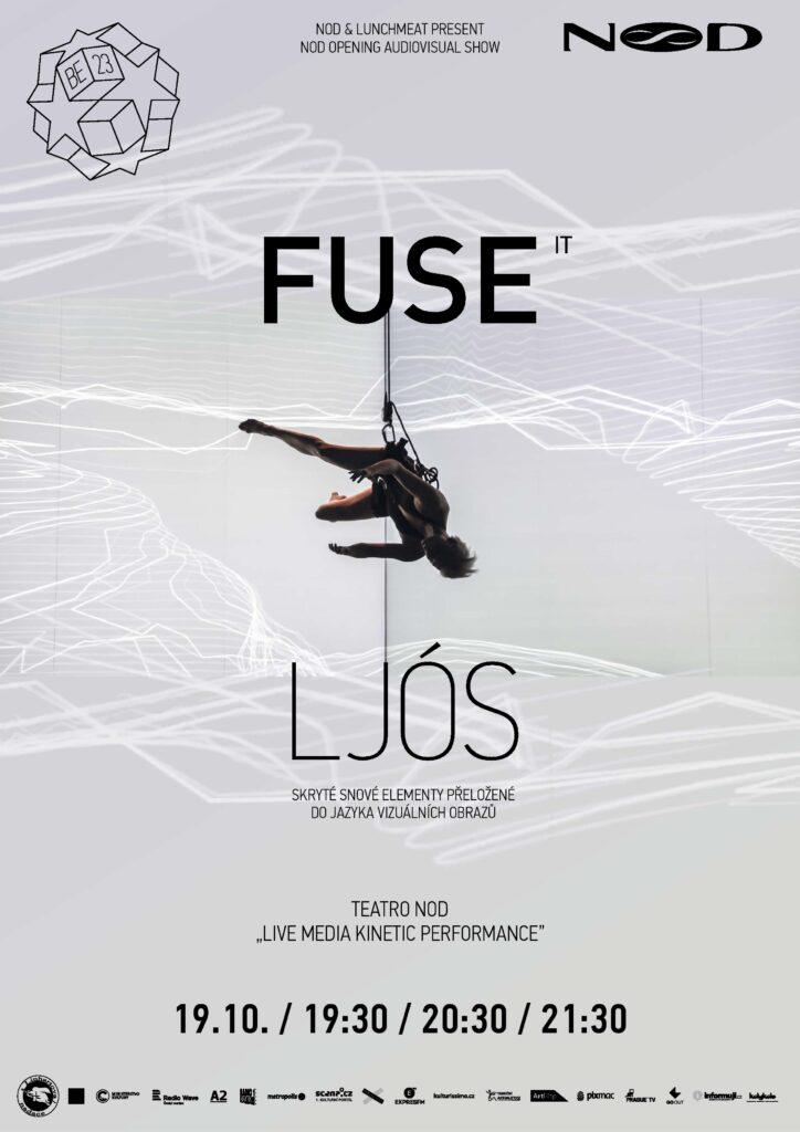 NoD otevře narozeninový festival BE23 multimediální pohybovou live performancí Ljós od italského uměleckého kolektivu fuse*