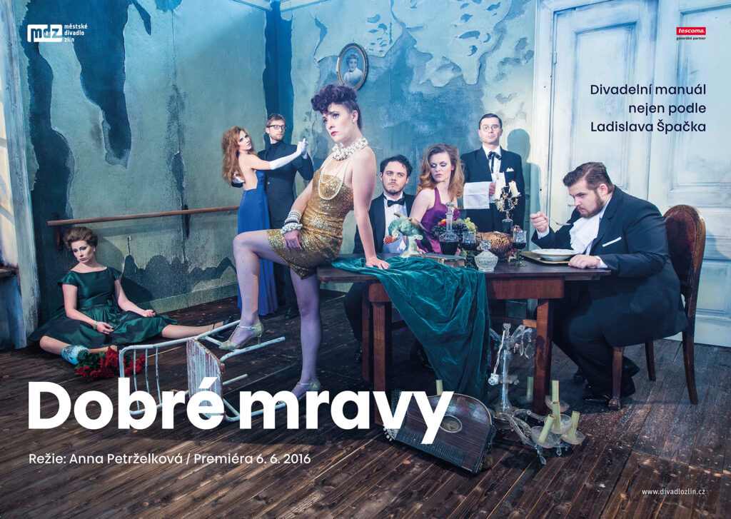 Zlínské divadlo uvádí poslední premiéru sezony: Dobré mravy