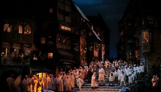 Mistři pěvci norimberští 13. prosince v kinech: poslední příležitost vidět klasickou Schenkovu inscenaci pod taktovkou maestra Jamese Levina