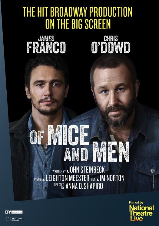 NT Live se s hvězdnou inscenací O myších a lidech poprvé vydá na Broadway