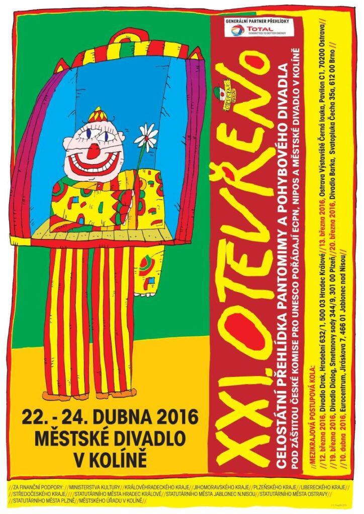 Otevřeno 2016: celostátní přehlídka pantomimy a pohybového divadla