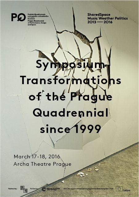 """Sympozium """"Proměny Pražského Quadriennale od roku 1999"""" nabídne zamyšlení nad vývojem scénografie"""