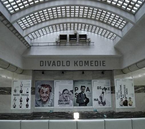 Praha požádala stát o bezúplatný převod Divadla Komedie