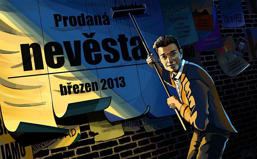 V Brně připravují operu Prodaná nevěsta v komiksovém stylu