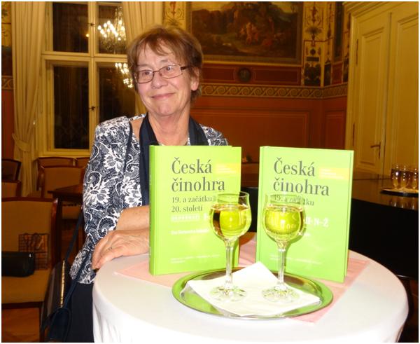 Publikace Česká činohra 19. století byla slavnostně pokřtěna ve Vile Lanna