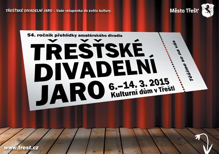 Táborští ochotníci zahájí 54. ročník Třešťského divadelního jara