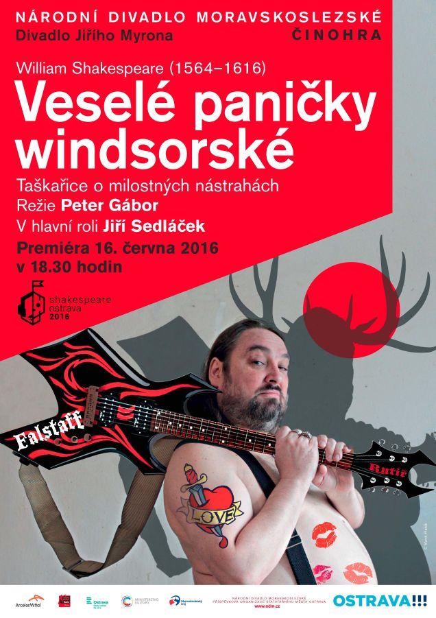 Jiří Sedláček a kapela Moby Dick rozehrají Veselé paničky windsorské