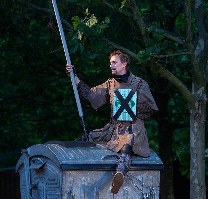 Pod plzeňským nebem bude v sobotu premiéra hry Don Quijote