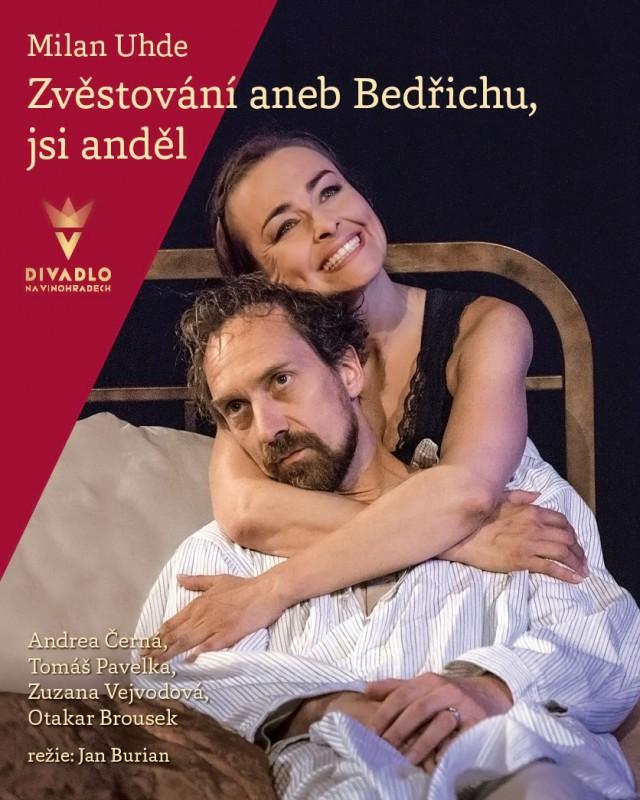 Divadlo na Vinohradech uvede komorní hru Milana Uhdeho Zvěstování