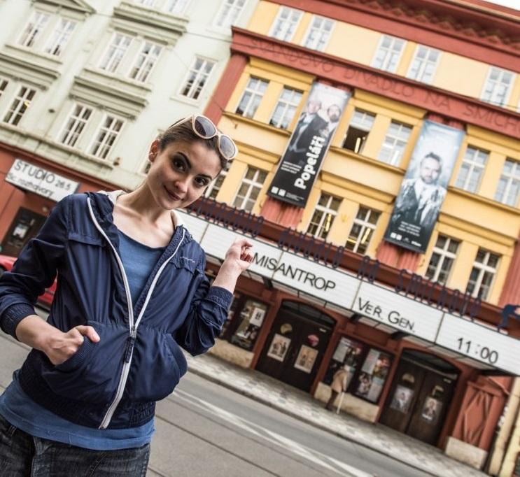 Den otevřených dveří ve Švandově divadle: s herci a ve znamení historie