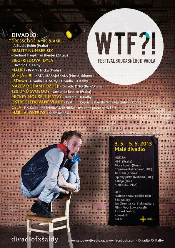 V Liberci se koná festival současného divadla WTF?!