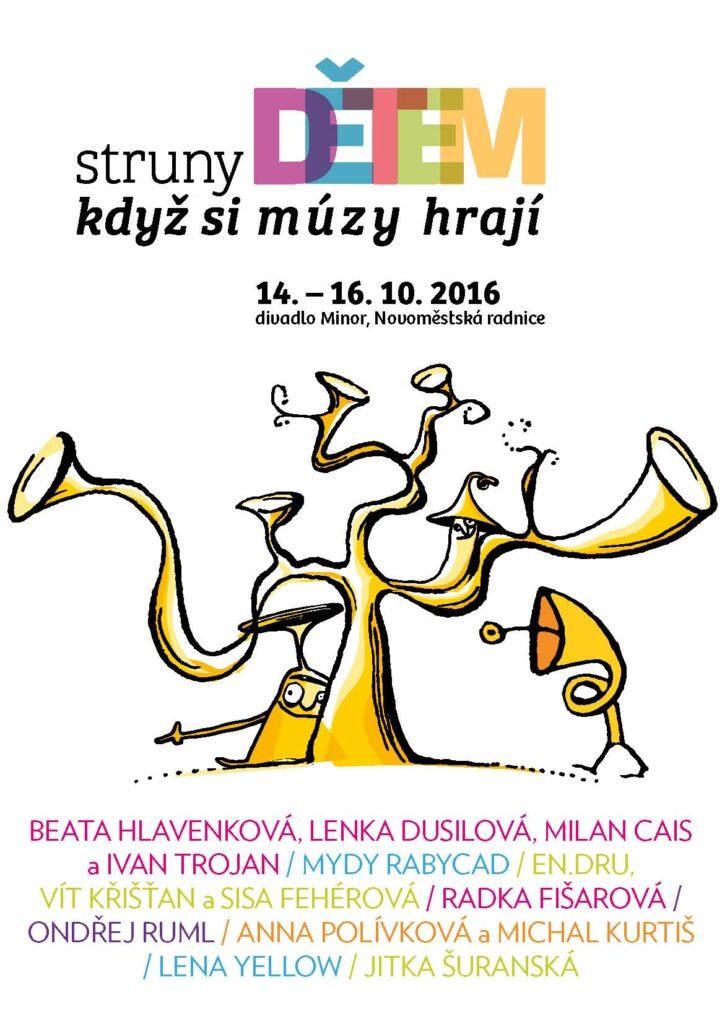 V pražském Divadle Minor dnes začíná festival Struny dětem