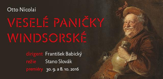 Divadlo F. X. Šaldy uvede po 28 letech operu Veselé paničky windsorské