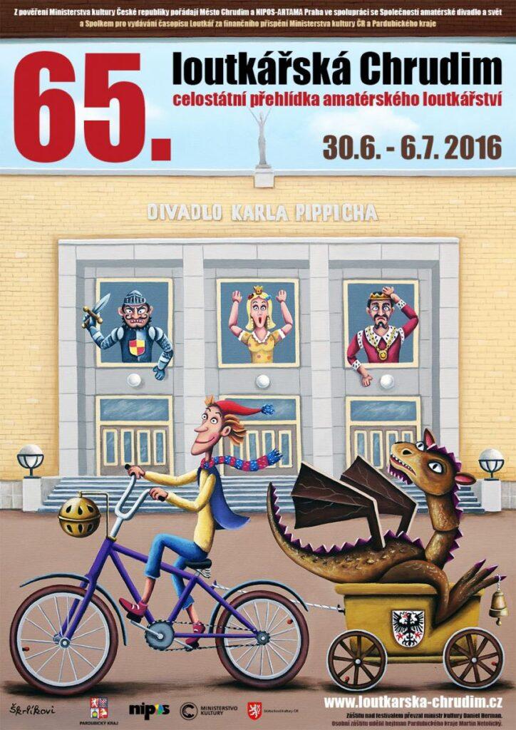 Festival Loutkářská Chrudim letos nabídne 47 představení