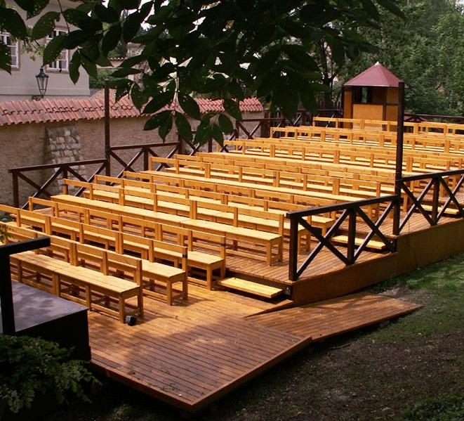 Letní scéna pražského Divadla Ungelt zahájí provoz 4. července