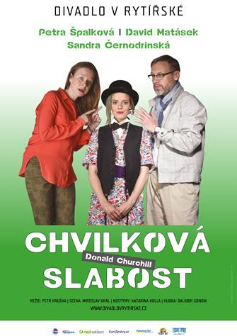 Divadlo v Rytířské uvede premiéru komedie Chvilková slabost