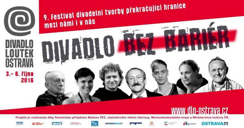 Festival Divadlo bez bariér představí známé tváře mimoostravských divadel