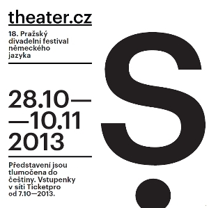 Pražský divadelní festival německého jazyka 2013