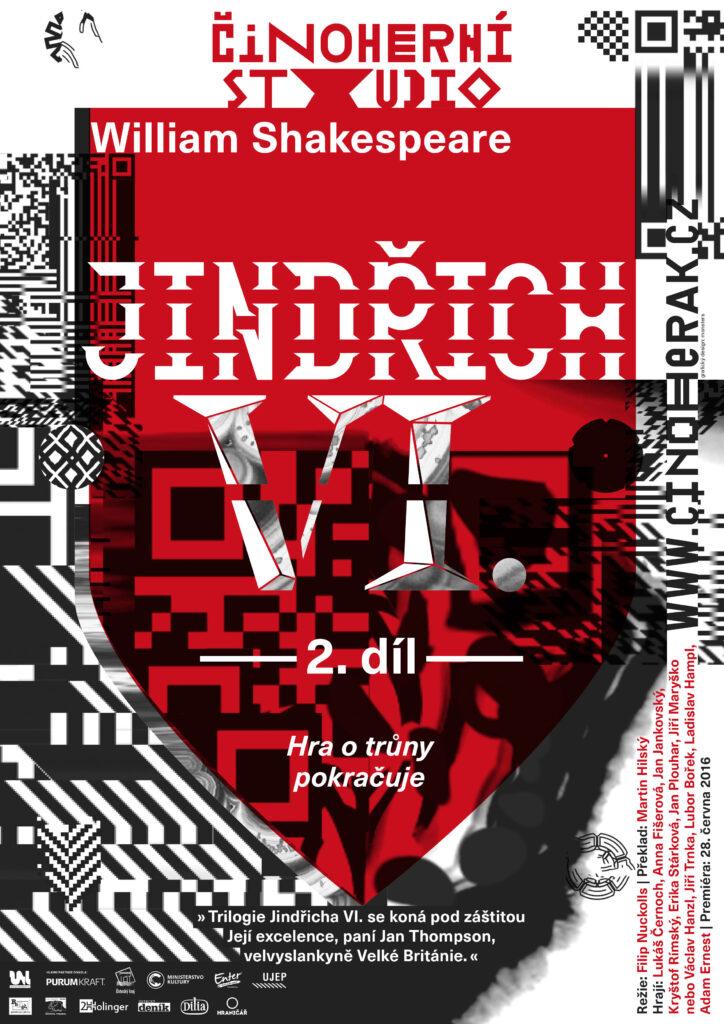 Poslední premiérou Činoherního studia v této sezoně bude druhý díl trilogie Jindřich VI.