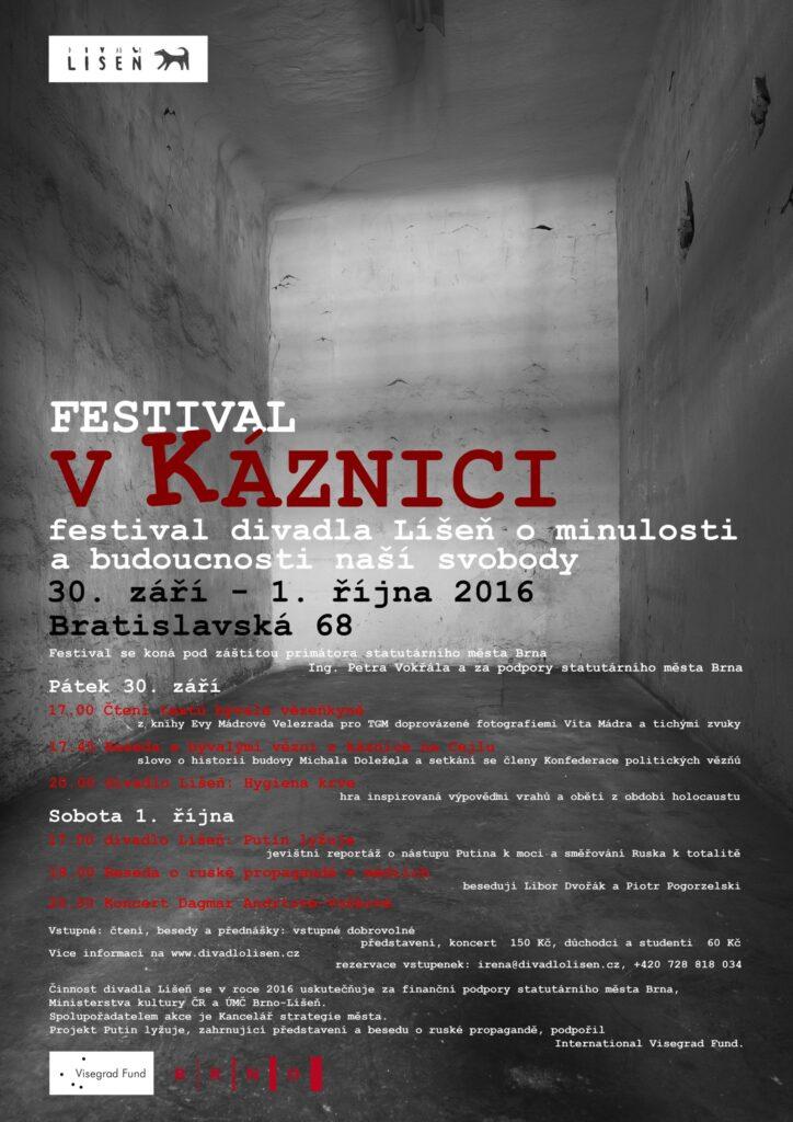 V prostorách bývalé káznice v Brně dnes začíná divadelní festival