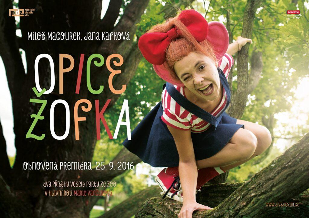Opice Žofka je zpět: oblíbená pohádka na prknech zlínského divadla