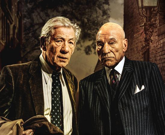 Hvězdy filmů X-Men McKellen a Stewart se představí v kruté komedii vítěze Nobelovy ceny Harolda Pintera