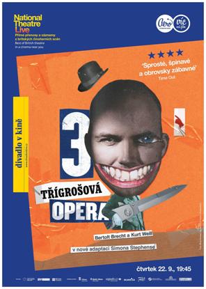 Divadlo v kině pokračuje po rekordní hamletovské sezóně nemravným muzikálem i Komikem Branaghem