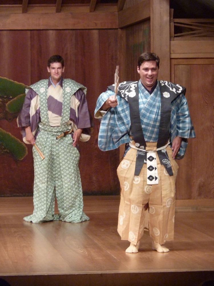 Malé divadlo kjógenu hostovalo v Japonsku a chystá další hry