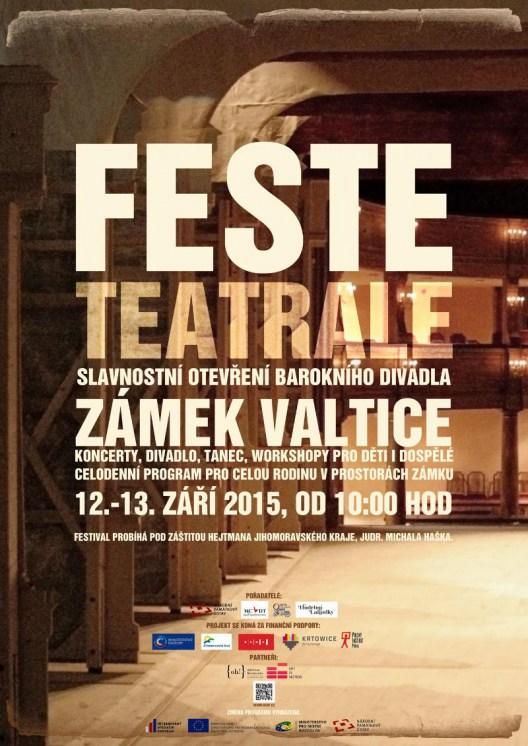 Opravené barokní divadlo zámku Valtice zahájí provoz festivalem