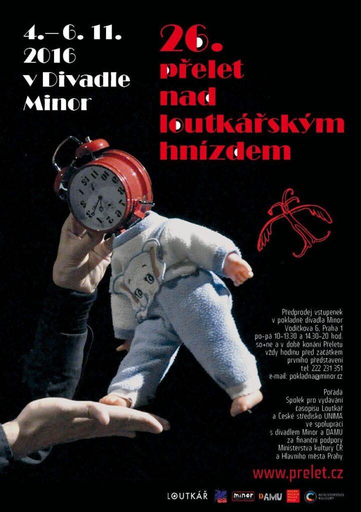 Loutkáři z celé republiky se sletí do Prahy již po dvacáté šesté