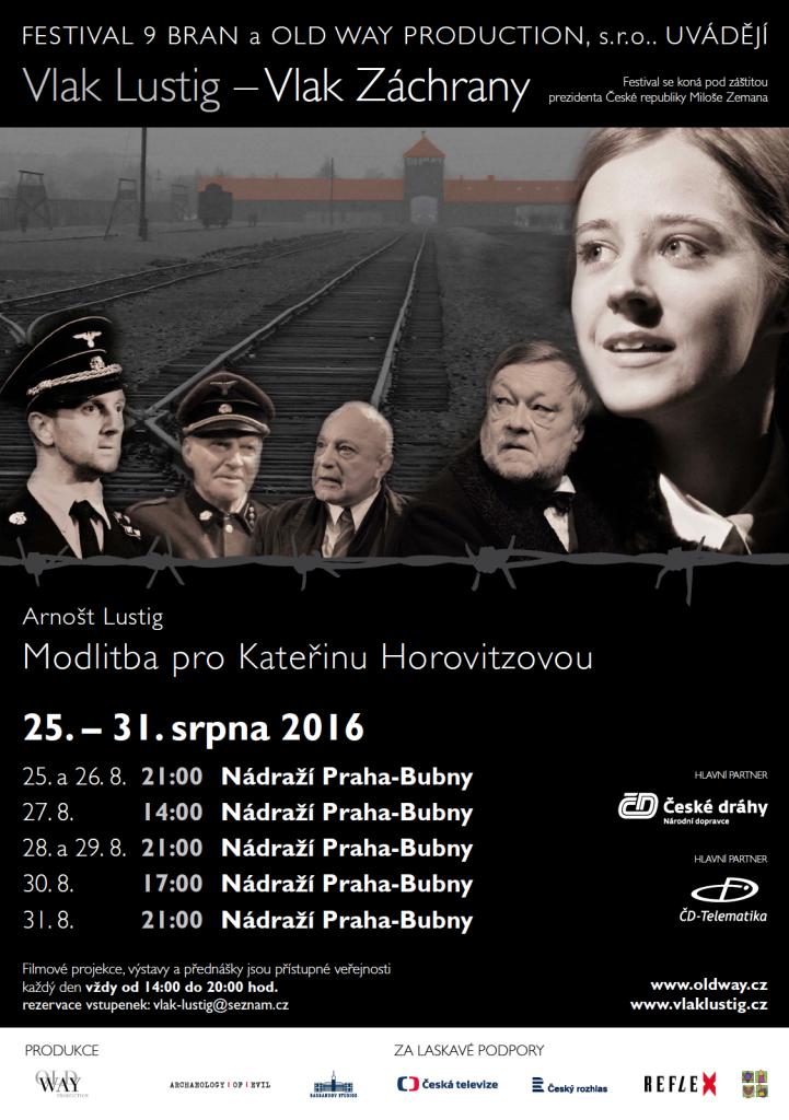 Vlak Lustig koncem srpna opět zastaví na nádraží Praha-Bubny
