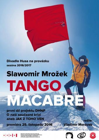 Repertoár Husy na provázku rozšíří mnohoznačné Mrožkovo Tango