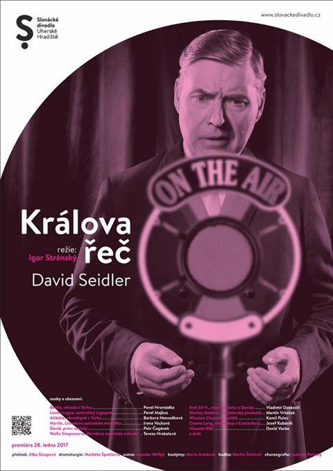 Slovácké divadlo uvede v sobotu premiéru inscenace Králova řeč